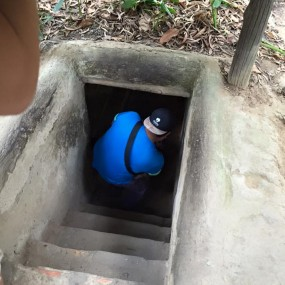 CU CHI TUNNELS - CAO DAI TEMPLE FULL DAY